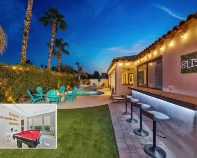 Bliss: Pool, Spa, Pool Table, Ping Pong, Fire Pit - Indio