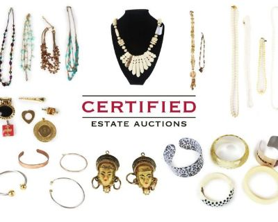 Certified Estate Sales Multi-Estate Jewelry Auction