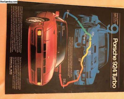 Porsche 924 Turbo Advert Page