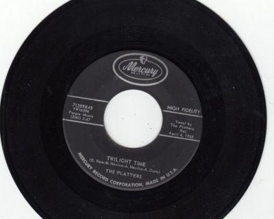 PLATTERS ~ Twilight Time*Mint-45