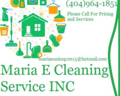 🏡 Cleaning Service`s estimate free ☎ (404)964-1851*