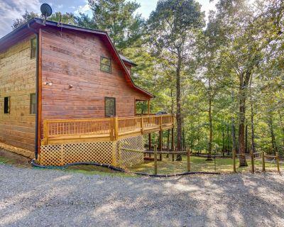 Dog-friendly retreat w/ private hot tub, fenced yard, deck, & game room! - Blue Ridge