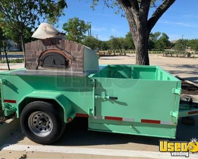 2016 Four Grand Mere Wood-Fired Pizza Trailer / Used Mobile Pizzeria