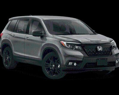 New 2021 Honda Passport Sport AWD