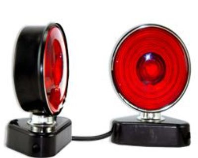 Pro 12v Magnetic Trailer Light Kit Rv Boat Tow Truck Towing Lite Camper Parts