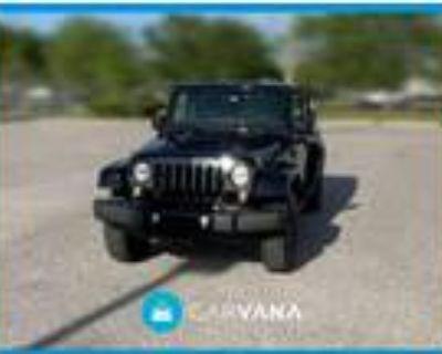 2018 Jeep Wrangler Black, 25K miles