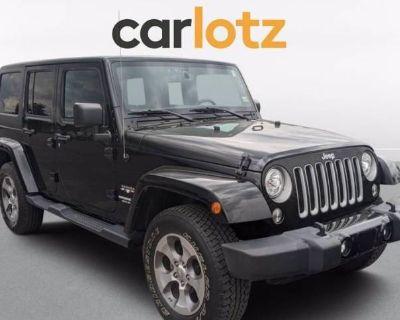 2017 Jeep Wrangler Sahara