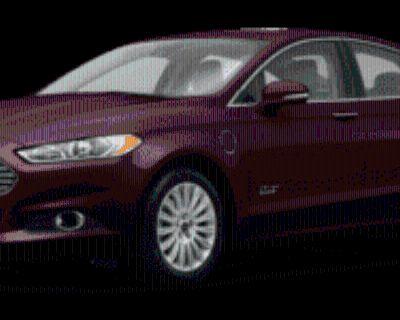2013 Ford Fusion Energi SE Luxury