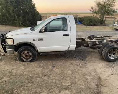 2007 Ram 3500 6.7 Cummins cab and chassis 4x4