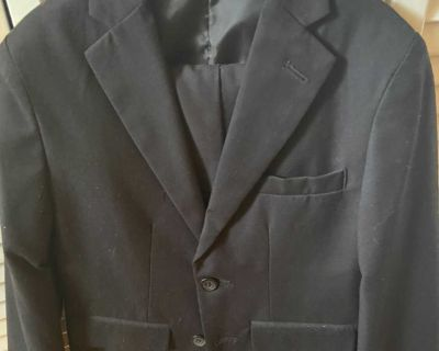 Little boy Izod black pant suit size 8