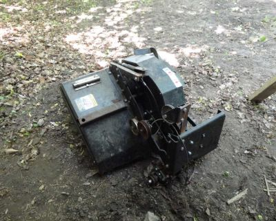 Garden Tractor Mounted Sears GT Series Craftsman Belt Drive Rototiller Cultivator Attachment
