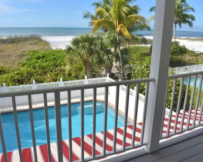 Luxury Gulf Front 4 or 5 BR (with the guest house rented) Pool Home - Mid Island