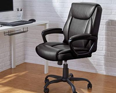 Padded Mid-Back Office Computer Desk Chair - New!