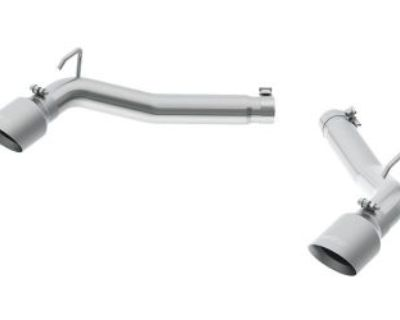 Mbrp Exhaust S7019304 Pro Series Dual Axle Back Muffler Delete Pipe Fits Camaro