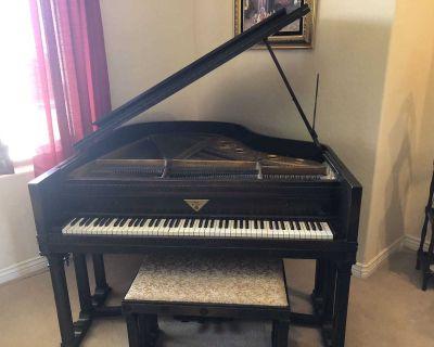 1928 Fischer Baby Grand Piano