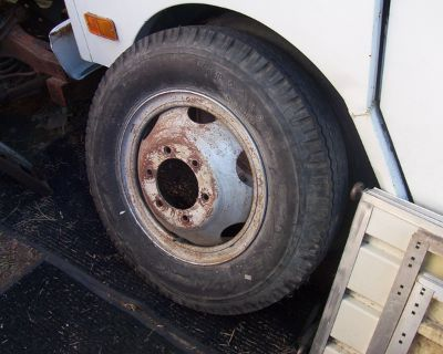 6 BOLT SPARE FOR 1 TON TRUCK 700-17