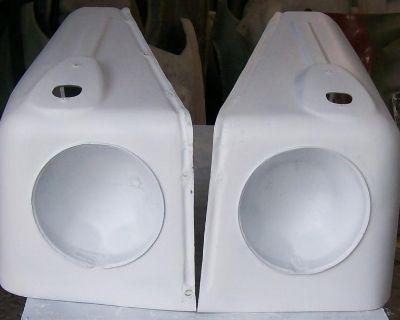 Vw Type 181 182 Thing Trekker Kubel Wing / Fiberglass Fenders Front And Rear