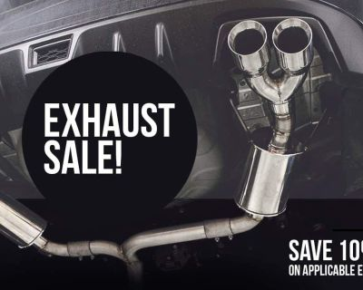 MAPerformance EXHAUST SALE 10% OFF