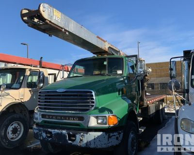 2005 Sterling LT8500 6x4 Flatbed Truck w/Conveyor