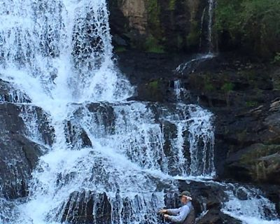Waterfall Cottage at Cane Creek Falls, 2BR/2BA within sight & sound of the falls - Dahlonega