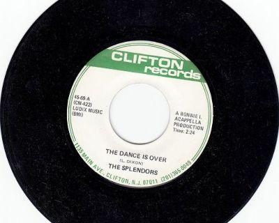 SPLENDORS ~ The Dance Is Over*Mint-45 !