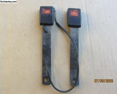 early vanagon front seat belt receivers Z-b3