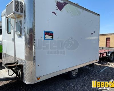 2012 8' x 12' Food Trailer / Mobile Kitchen with Fire Suppression System