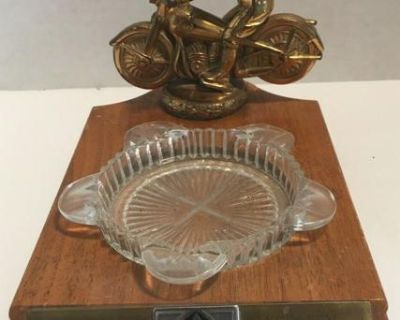 Wanted: Vintage AMA Motorcycle Trophy/Ashtray Combination