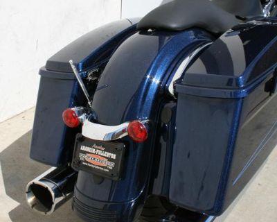 "Harley Davidson Touring 9"" Big Stick Solid Shaft Stainless Am/fm Antenna Polish"