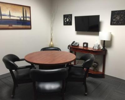 Office Meeting Room w/ TV & Seating for 4 in Rocklin, Rocklin, CA