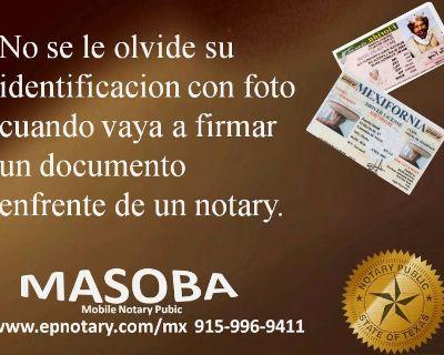 MASOBA Mobile Notary
