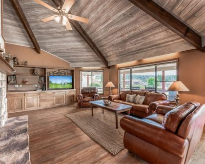 Par Fore the Course: Dog Friendly, Level Entry 3 Bedroom With a View of the Course! - Ruidoso