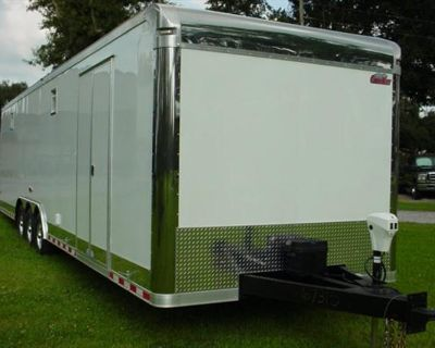 8.5x32 Enclosed Race Trailer Cargo Mate Eliminator Ultimate Quality