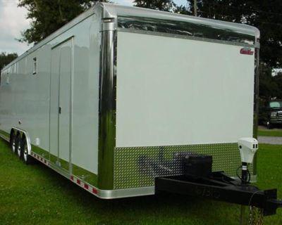 8.5x32 Enclosed Race Trailer Cargo Mate Eliminator Ultimate Quality