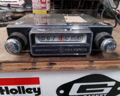 """Vintage Motorola Radio """"WORKING"""""""