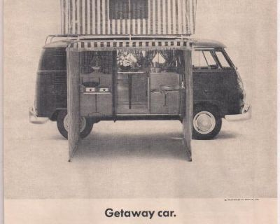 1964 1 Page Westfalia Camper Bus Print Ad #128