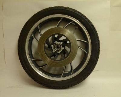 Yamaha Xv750 Xv 750 Virago Front Wheel Rotor Tire