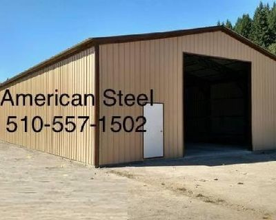 American Steel Metal Shops, Garages, Ag structures, RV Boat covers.