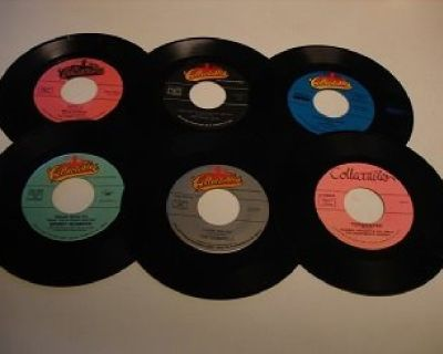 DOO WOP 45s *Rare Lot Of 20 COLLECTABLES RECORDS*M-45s !