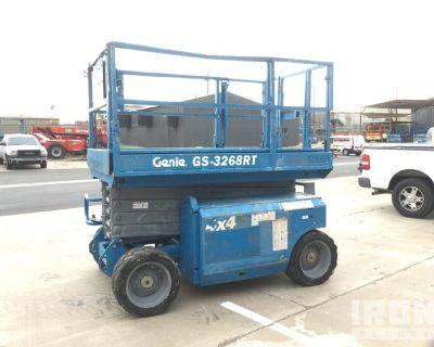2007 Genie GS-3268RT 4WD Dual Fuel Scissor Lift