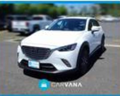 2016 Mazda CX-3 White, 27K miles