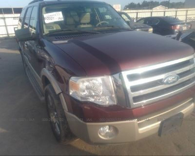 Salvage Maroon 2009 Ford Expedition