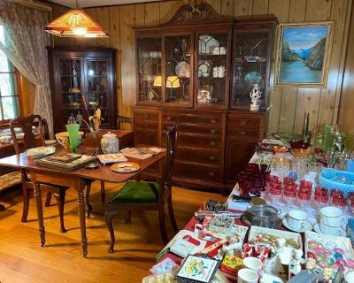 Estate Sale: Vintage Eclectic, Complete Contents of Home