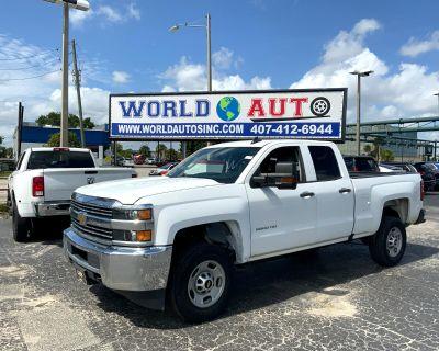 "2017 Chevrolet Silverado 2500HD 2WD Double Cab 144.2"" Work Truck"