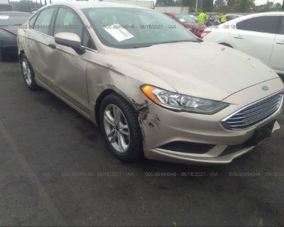 Salvage Gold 2018 Ford Fusion