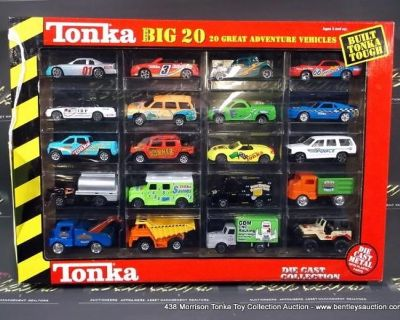 Morrison Tonka Toy & Collectible Toys Online Auction
