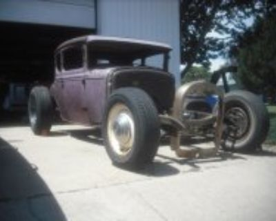 .'31 Ford coupe, chopped project 785-672-9148
