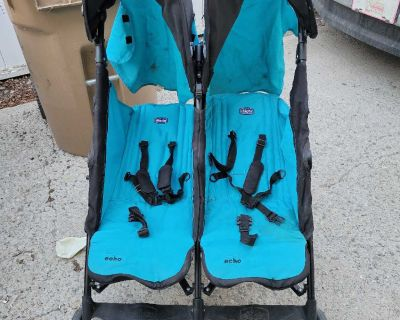 Chicco Brand Double Stroller