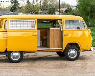1972 Campmobile Sierra Yellow Freshly Restored