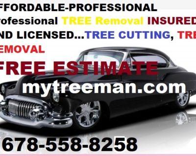 Free Estimate Tree Services: Tree Removal | Atlanta, GA TREE CUTTING SERVICE Fallen trees